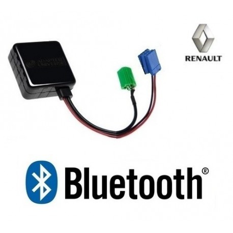 Cable Bluetooth Auxiliaire MP3 pour Autoradio Renault Update List