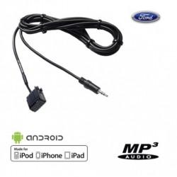 Cable Auxiliaire MP3 pour Autoradio d'origine Ford Avant 2010