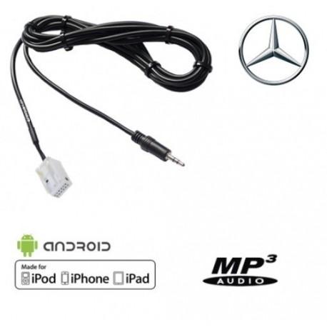 Cable Auxiliaire MP3 pour Autoradio d'origine Mercedes