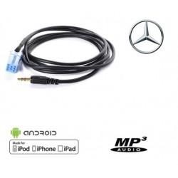 Cable Auxiliaire MP3 pour Autoradio Mercdes Class A et B
