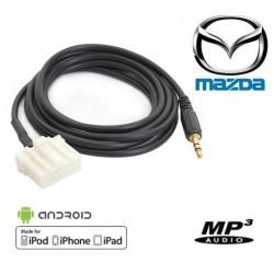 Cable Auxiliaire MP3 pour Autoradio d'origine Mazda