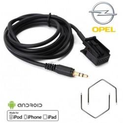 Cable Auxiliaire pour Autoradio Origine Opel et clefs demontage