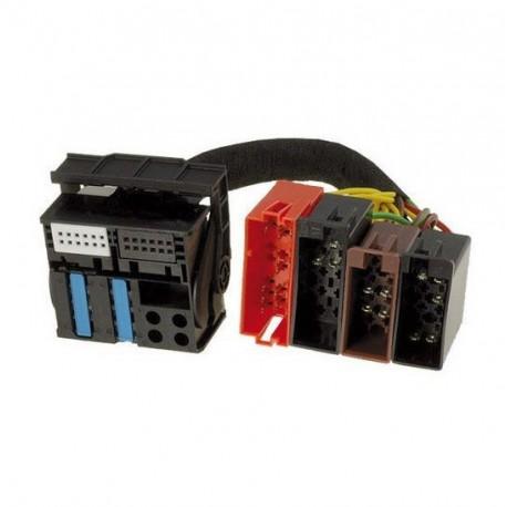 CABLE AUXILIAIRE MP3 AUTORADIO AUDI A3 A4 TT BNS 5.0 et 4 cles extraction
