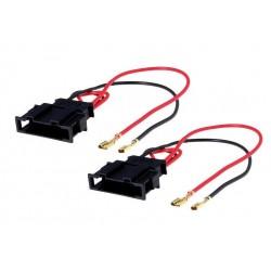 Cable adaptateur haut parleur véhicule Volkswagen et Seat
