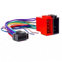 Cable Faisceau ISO pour autoradio ALPINE16 pins connecteur noir