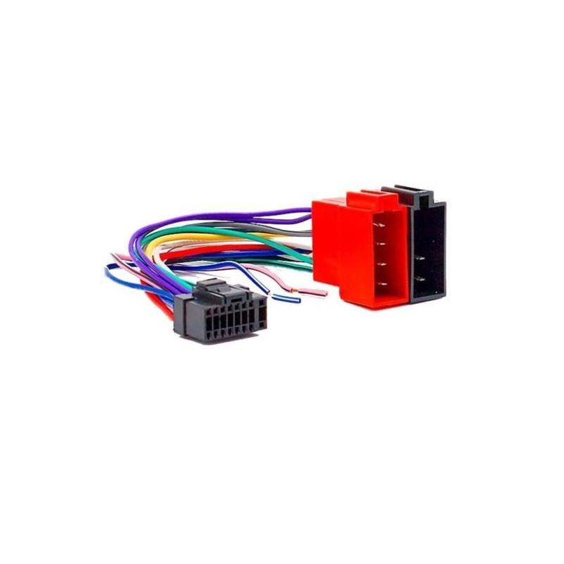 Cable adaptateur ISO autoradio ALPINE CDE-9881RB ; CDE-9882Ri