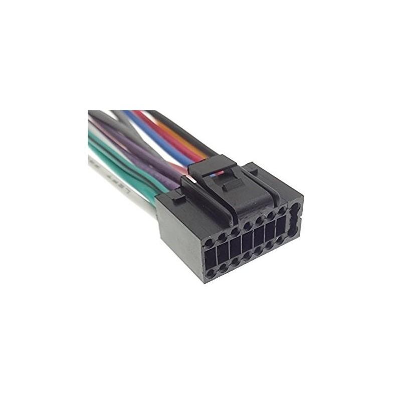 Cable ISO pour Autoradio JVC KW-AVX820