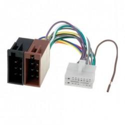 Câble Faisceau Adaptateur ISO pour autoradio CLARION 16 pins