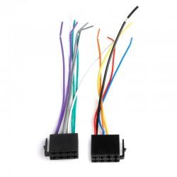 Cable Faisceau Adaptateur ISO Universel pour voiture Autoradio Standard
