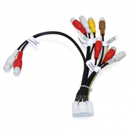 Câble RCA 24PIN pour autoradio Pioneer AVIC F930BT F940BT F9310BT F30BT F40BT