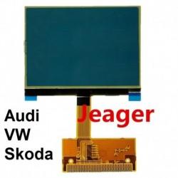 ECRAN AFFICHEUR LCD COMPTEUR JAEGER ODB AUDI A2, A3, A4, A6, TT JAEGER