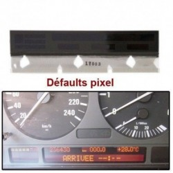 ECRAN LCD complet pour compteur odb BMW E38 E39 X5 Avec Nappe