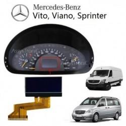 ECRAN LCD COMPTEUR ODB de MERCEDES VITO VIANO Sprinter