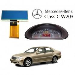 ECRAN LCD COMPTEUR ODB de MERCEDES W203 CLASSE C