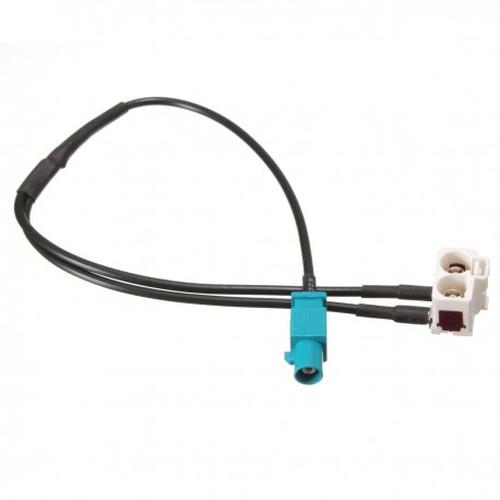 Cable Antenne Fakra pour VW Rcd Rns 210 300 310 510 Mfd2 Mfd3 1 Fakra Male