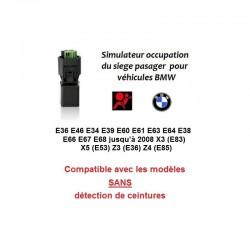 Réparer tapis sensitif BMW voyant airbag allumé BMW E36 E 38 E39 E 46 E60