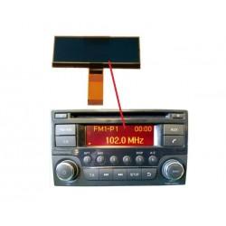ECRAN LCD pour autoradio Nissan Juke, Navara, Note, NV200, Qashqai, X-TraiL