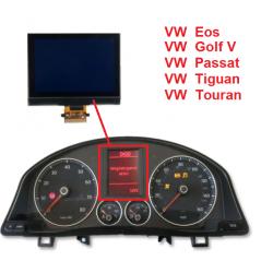 Afficheur LCD ECRAN DE COMPTEUR Volkswagen GOLF V, PASSAT, JETTA