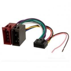 Cable Faisceau ISO pour autoradio JVC 16 pins Renvoi